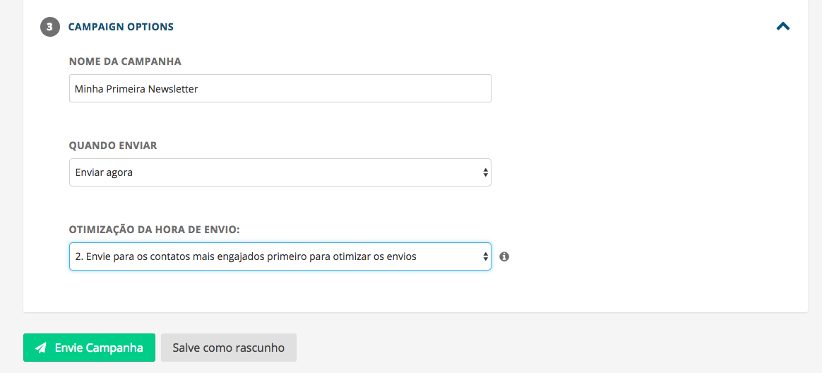 Enviar Campanha E-mail Marketing