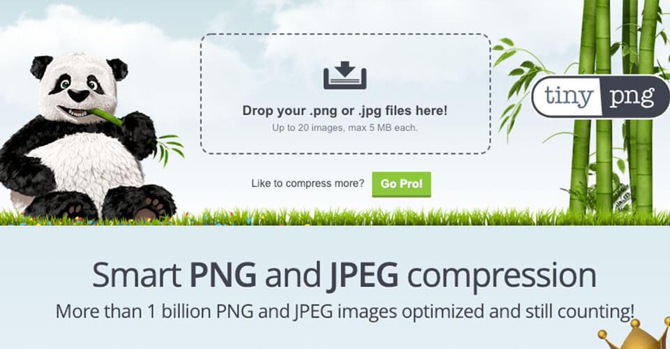 Compactador de Imagens TinyPng