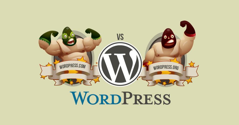 WordPress.com vs WordPress.org – Qual a melhor plataforma?